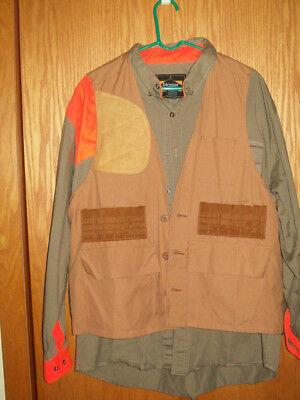 Master Sportsman Upland hunting shirt and game vest