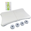 miniature 1 - Nintendo Wii Fit Balance Board w/ Feet & Wii Fit Game Bundle Clean Tested RVL201