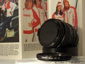 canon objectif 35 mm f 2.8  monture F-D