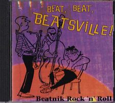 BEAT! BEATSVILLE! BEATNIK JAZZ BEAT GENERATION MUSIC CD LORD BUCKLEY MUNSTERS
