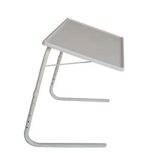 Mobiler-Multifunktionstisch-klappbar-hoehenverstellbar-Campingtisch-Beistelltisch