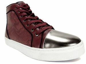 9 M Sneakers Top Goud 191408766244 Maat Boden Donkerrood Men's 5 Guess Hight teen zXYRZqPn