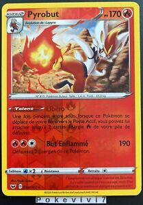 EB01:Épée et Bouclier Carte Pokemon Neuve Française 035//202 Pyrobut Holo