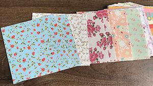 Image Is Loading 90pcs Origami Color Paper Crafts Sheets Floral Design
