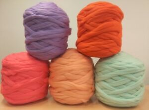 Giant Super Chunky Jumbo 100% Merino Wool Yarn for Arm Knitting from Australia