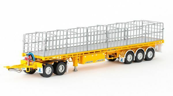DRAKE 1 50 SCALE MAXITRANS FREIGHTER TRAILER AND DOLLY SET MODEL   BN   ZT09148