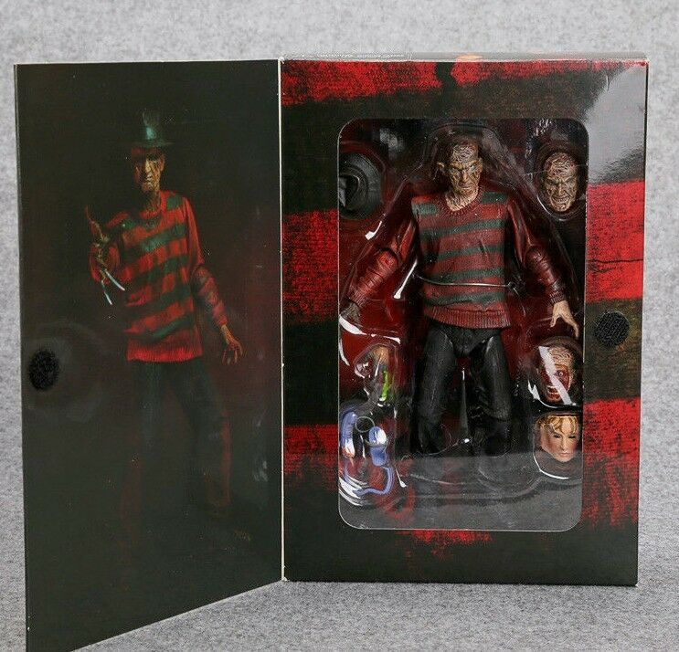 Brand New Freddy Krueger Nightmare On Elm Street Figure 30th Edition PVC Figure