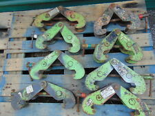 8 Cm 2 Ton I Beam Clamp Manual 3 To 9 Jaw Lot Of 8 Bc 2 Clamps Takes All