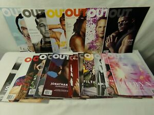 Out-Magazine-Lot-of-19-Back-Issues-from-2012-2013-2014-2016-2017-2018