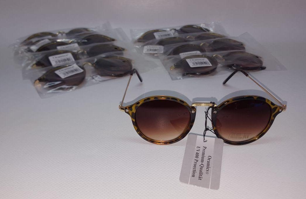 10 x Oramics Sonnenbrille Classic Design (grey) UVP 400 Art. Nr. i-32 NEU