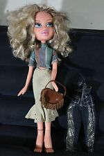 """22"""" MGA LARGE BRATZ DOLL WITH CLOTHING EXTRA CLOTHES & BAG"""