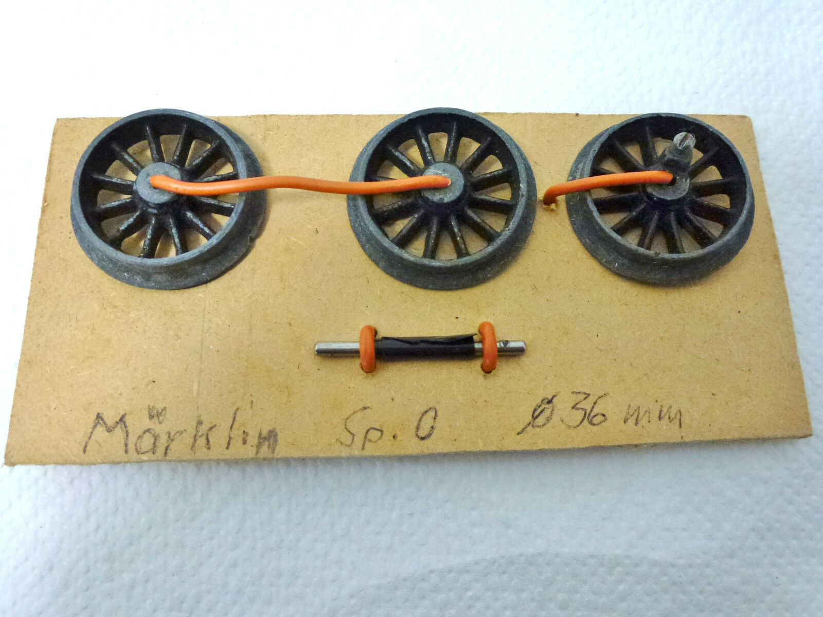 Märklin 3 Lokräder Spur 0 Ersatzteil    Elegantes Aussehen