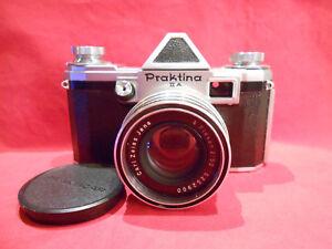 PRAKTINA II A Spiegelreflexkamera mit Objektiv Carl Zeiss Jena Flexon 2/50