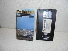 The Holy Land VHS Video RARE ( Jerusalem Israel )