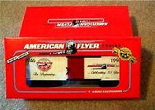 American Flyer 48324 50th Anniversary Commemorative Boxcar- S Scale