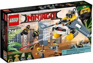 LEGO-70609-The-Ninjago-movie-Bomber-Manta-Ray-costruzioni-nuovo-imballato-341-pz