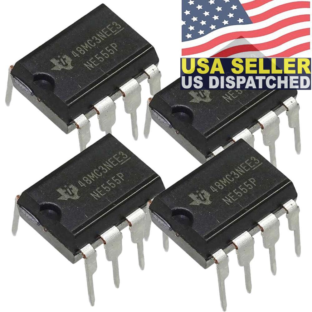 5 X Ne555p Xsd 218g Timer Ic 555 Texas Instruments Brand Dip 8 Ebay Lm555 Circuit Diagram Arduino Uno Pin Stock Photo