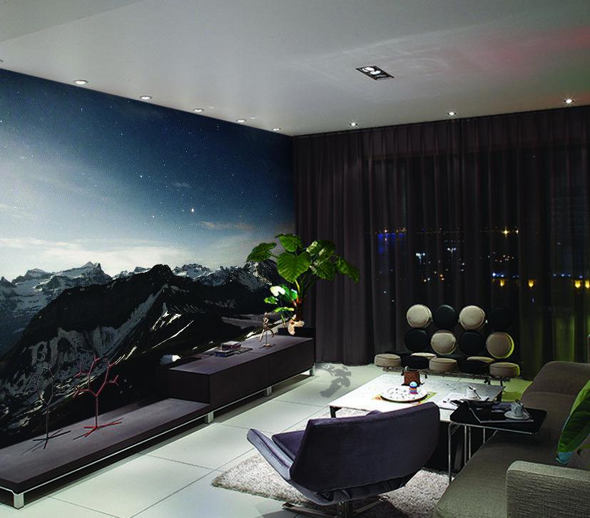 3D Twilight Star Sky 7 Wall Paper Murals Wall Print Wall Wallpaper Mural AU Kyra