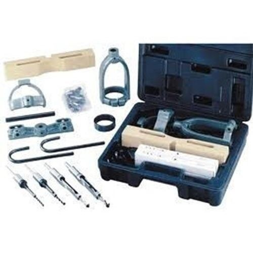 Drill Press Mortising Kit Square-Shouldered Mortises Jig Chisel Bits Auger Tool