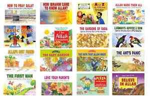 NEW-QURAN-STORIES-FOR-LITTLE-HEARTS-MUSLIM-ISLAMIC-CHILDREN-KIDS-16-BOOKS