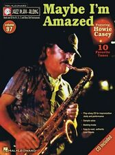 Jazz Play-Along Maybe Im Amazed Clarinet Sax Saxophone Flute Bass Music Book