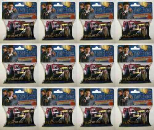 12 Pack Lot of Harry Potter Teachers Logo Silly Bandz 240 Bands