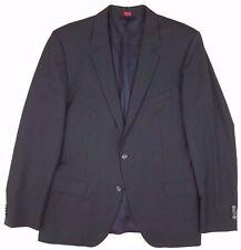 HUGO Boss 44R Blazer ALLONO Hatem PINSTRIPE 2 Button WOOL Mens SIZE Dark GRAY Sz