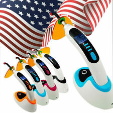 2017 CE 10W Wireless Cordless LED Dental Curing Light Lamp 2000mw USA shipping