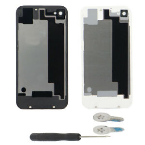 OEM-Genuine-Glass-Battery-Cover-Back-Door-Replacement-For-iPhone-4-4G-4S-Screws