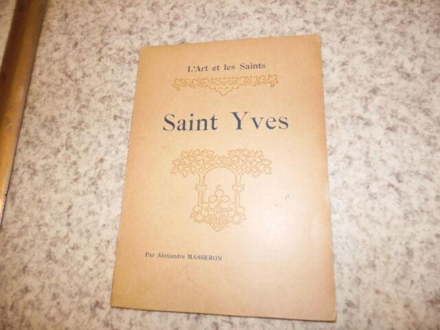 1925.L'art y de la saints.Saint Yves.Masseron Alexandre
