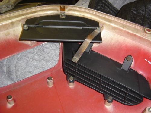 70-71 Cuda Challenger Shaker Correct Yellow Zinc Door Nuts