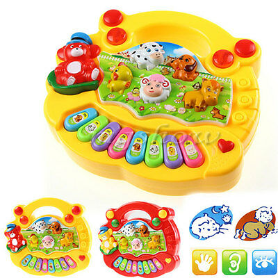 Baby Kids Music Musical Developmental Animal Farm Piano Educational Toy Gifts