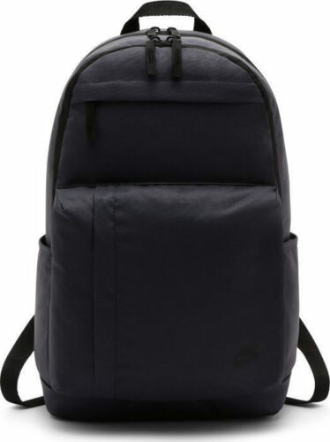 Nike Elemental Sports Backpack Gym Training School Black Grey Navy Unisex