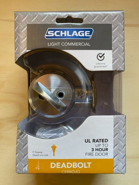 Commercial Door Hardware Schlage B560P6 626 C123 Everest Single ...