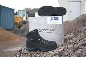 on sale lace up in differently Details zu LOWA Arbeitsschuhe Sicherheitsschuhe GORETEX Innox Work Blue Mid  S3 Schuhe 5940