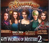Lost Souls: Timeless Fables Hidden Object 4 Pack Women Of Mystery 2 Pc Game