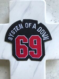 SOAD-System-Of-A-Down-69-Sixty-Nine-Band-Rock-Music-Iron-On-Patches-Patch