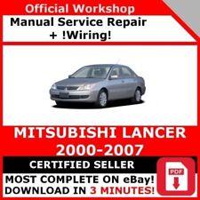2009 Mitsubishi Lancer Electrical Wiring Diagrams Service Manual Supplement Ebay