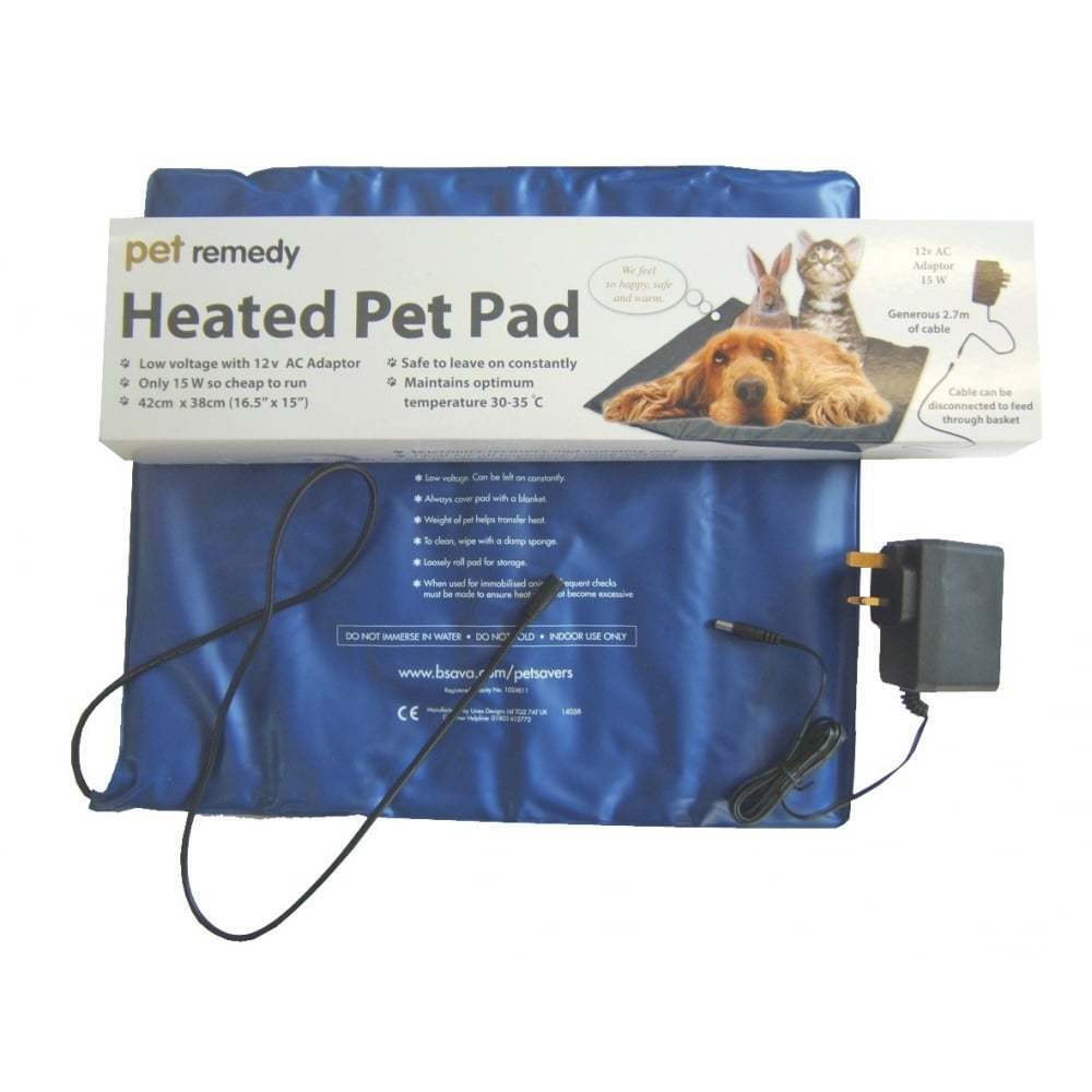 Pet Remedy Heated Pet Pad To Calm Anxious or Stessed Pets