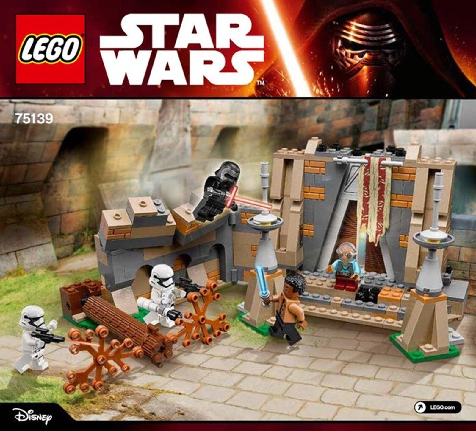Lego® - 75139 - Battle Battle Battle on Takodana Star Wars Episode 7 -5 Minifiguren New Sealed 63540c