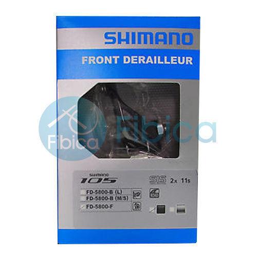 New Shimano 105 FD-5800 Road  Front Derailleur 2x11-speed Brazed on  fashion
