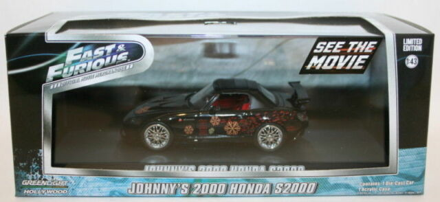Greenlight 1/43 Scale 86205 Fast & Furious - Johnny's 2000 Honda S2000