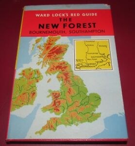 Ward-Lock-Red-Guide-THE-NEW-FOREST-Bournemouth-Southampton-Winchester-Salisbury