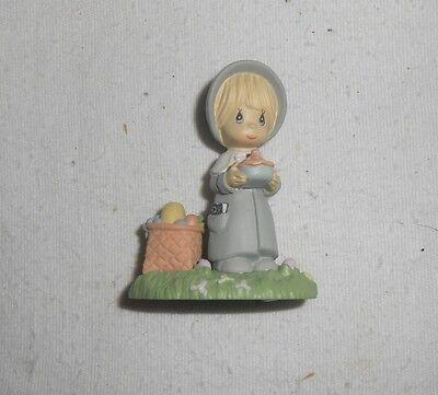 Enesco Precious Moments Miniature Monthly Figurine NOVEMBER 1989 -  New