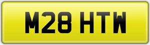 MATTHEW-CLASSIC-CHERISHED-CAR-REG-NUMBER-PLATE-M28-HTW-MATT-MAT-MATTY-MATTIE