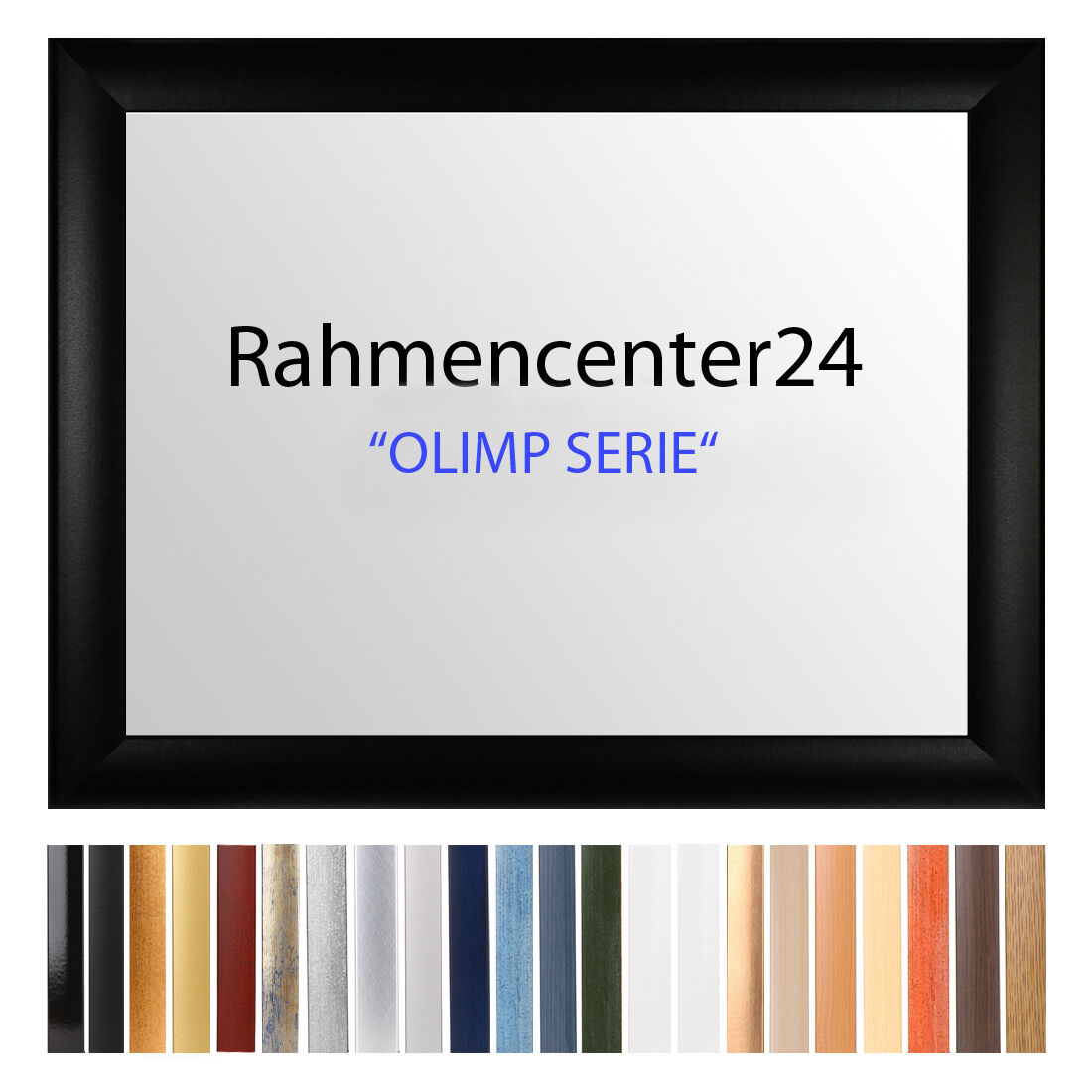 Bilderrahmen Antireflex 22 Farben ab 74x118 bis 74x128 cm Foto Poster Rahmen Neu
