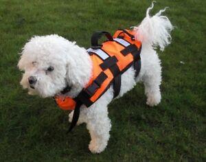 Pet Dog Life Jacket Swimming Float Vest Reflective Buoyancy Sailing Aid UK STOCK