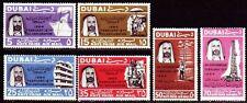 Dubai 1966 ** Mi.193/98 Öl Bohrung Oil Drilling Scheich Sheik Rig Bohrturm