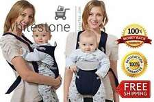 Miracle Baby Carrier Cotton Baby Bjorn Black Bebe Me Soft Cuddly 3in1 Original