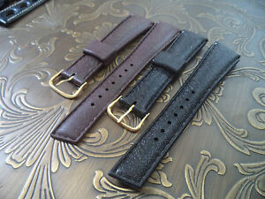 Rare-19mm-Original-STYLECRAFT-1960-Rubber-watch-strap-band-NOS-Canada-19-mm-3-4-034